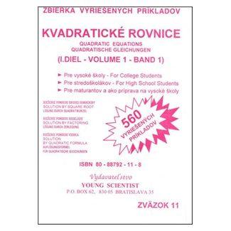 Marián Olejár: Kvadratické rovnice I.diel cena od 41 Kč