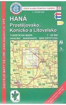 KČT 51 Haná Prostějovsko, Konicko a Litovelsko cena od 62 Kč