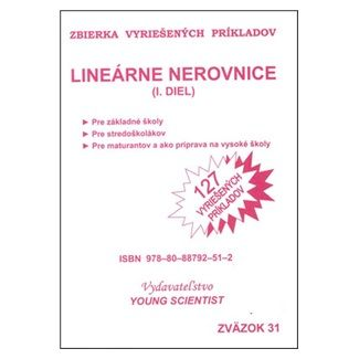 Marián Olejár, Iveta Olejárová: Lineárne nerovnice I.diel cena od 60 Kč