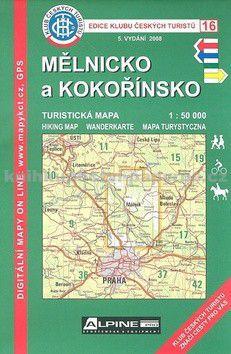 KČT 16 Mělnicko a Kokořínkso cena od 0 Kč