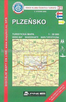 KČT 31 Plzeňsko cena od 89 Kč