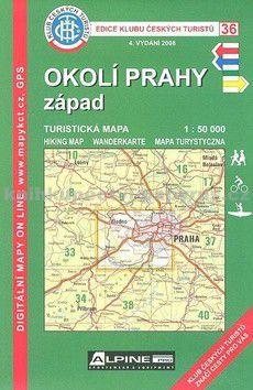 KČT 36 Okolí Prahy západ cena od 69 Kč