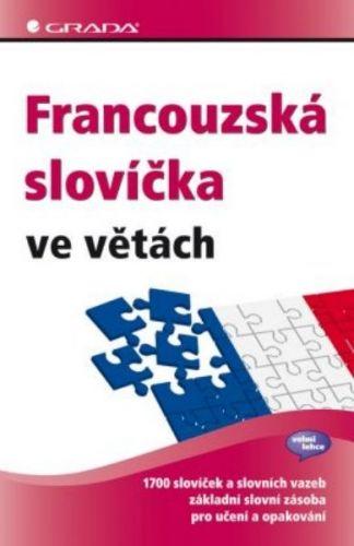 GRADA Francouzská slovíčka ve větách cena od 84 Kč