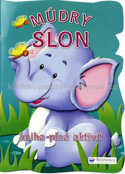 Múdry slon - kniha plná aktivít cena od 0 Kč
