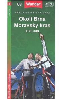 Marco Polo Okolí Brna Moravský kras 1:75 000 cena od 26 Kč