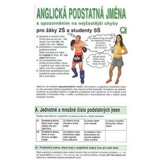 Charvátová Barbora: Anglická podstatná jména cena od 30 Kč