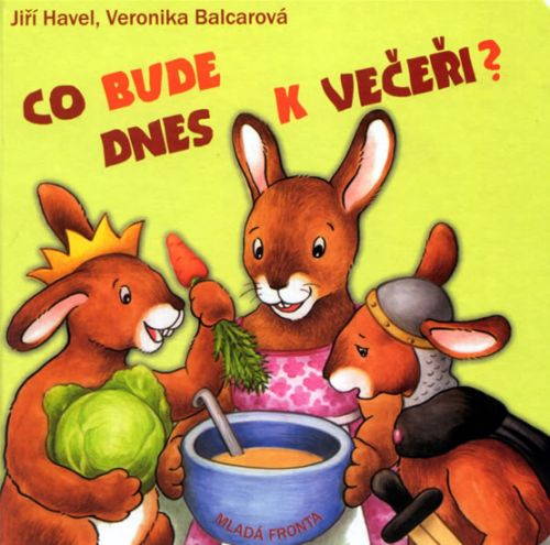 Veronika Balcarová: Co bude dnes k večeři? cena od 89 Kč