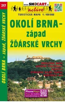 Okolí Brna-západ, Žďárské vrchy cena od 60 Kč