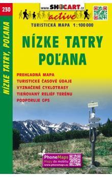 SHOCART Nízké Tatry, Poľana 1:100 000 cena od 60 Kč