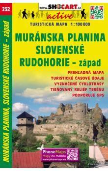 SHOCART Muránska planina, Slovenské Rudohorie-západ cena od 20 Kč