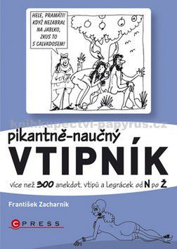 František Zacharník: Pikantně - naučný vtipník cena od 20 Kč