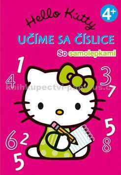 EGMONT Hello Kitty Učíme sa číslice cena od 84 Kč