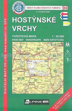 94 KČT - Hostýnské vrchy cena od 89 Kč
