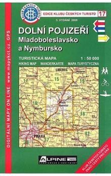 KČT 17 Dolní Pojizeří, Mladoboleslavsko a Nymbursko 1:50 000 cena od 72 Kč