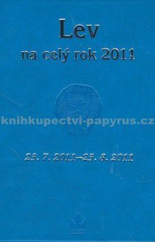 BARONET Horoskopy na celý rok 2011 Lev cena od 21 Kč