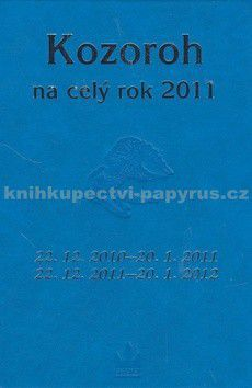 BARONET Horoskopy na celý rok 2011 Kozoroh cena od 24 Kč