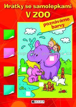 Hanka Veselá: V ZOO - tvary - Hrátky se samolepkami cena od 0 Kč
