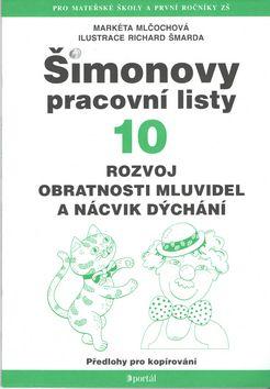 Markéta Mlčochová: Šimonovy pracovní listy 10 3v. cena od 0 Kč
