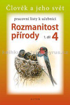 ALTER Pracovní listy k učebnici Rozmanitost přírody 4, 1 cena od 30 Kč