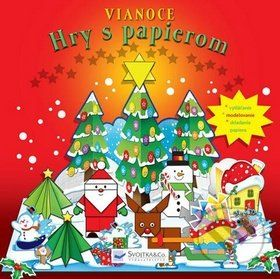 Svojtka Vianoce Hry s papierom cena od 87 Kč