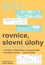 Rosecká Zdena: Rovnice, slovní úlohy pracovní sešit pro 9. ročník cena od 27 Kč