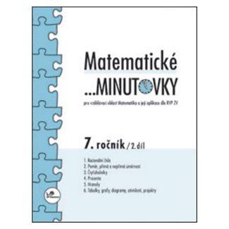 Miroslav Hricz: Matematické minutovky 7. ročník / 2. díl cena od 27 Kč