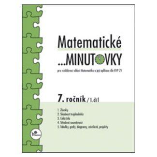 Miroslav Hricz: Matematické minutovky 7. ročník / 1. díl cena od 29 Kč