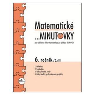 Miroslav Hricz: Matematické minutovky 6. ročník / 2. díl cena od 27 Kč