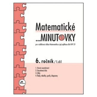 Miroslav Hricz: Matematické minutovky 6.ročník 1.díl cena od 29 Kč