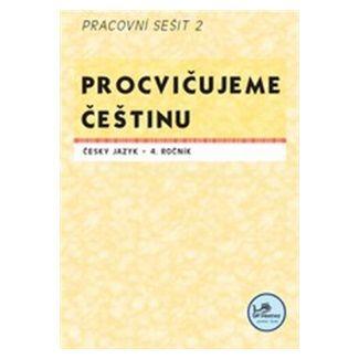 Hana Mikulenková: Procvičujeme češtinu Český jazyk 4.ročník Pracovní sešit II cena od 20 Kč
