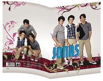 Jiri Models Jonas Brothers - Obal na sešit A4 cena od 31 Kč