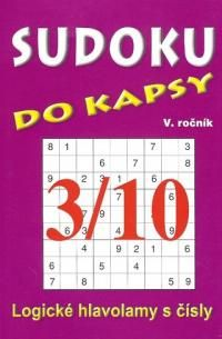 TELPRES Sudoku do kapsy 3/10 cena od 20 Kč