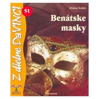 Diána Erdei: Benátske masky cena od 49 Kč