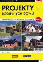 Projekty rodinných domů 1/2010 cena od 77 Kč