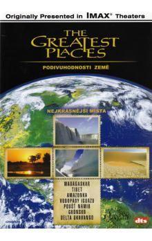 Nejkrásnější místa - Podivuhodnosti Země - DVD cena od 56 Kč
