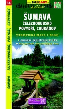 GeoClub Šumava-Železnorudsko 1:50T - turist .mapa cena od 76 Kč