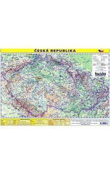 Kupka a Petr: Česká republika - mapa A4 lamino cena od 20 Kč