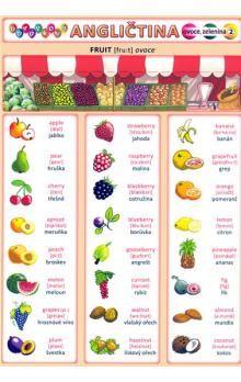 Kupka a  Petr: Obrázková angličtina 2 - Ovoce a zelenina cena od 18 Kč