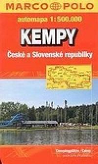Kempy ČR a SR/mapa 1:500T VKU cena od 99 Kč