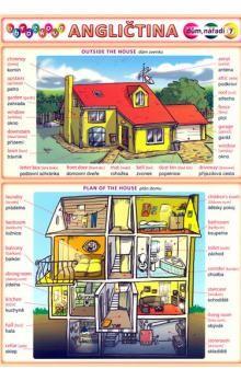 Kupka a  Petr: Obrázková angličtina 7 - Dům, nářadí cena od 18 Kč