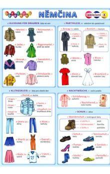 Kupka a  Petr: Obrázková němčina 4 - Oblečení cena od 18 Kč