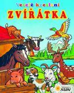 Veselé kreslení Zvířátka - omalovánka cena od 39 Kč