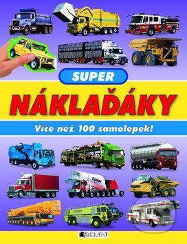 Paul Calver: Super náklaďáky - Více než 100 samolepek! cena od 67 Kč