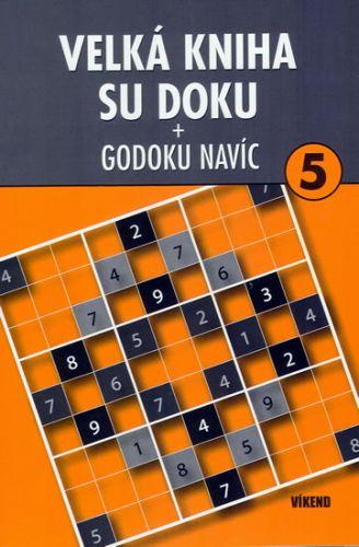 Velká kniha sudoku 5 + Godoku navíc cena od 60 Kč