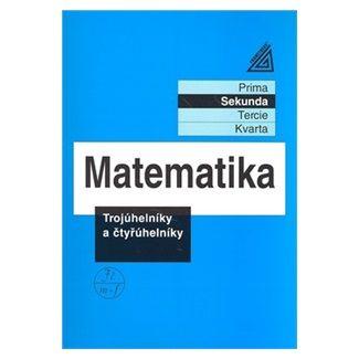 Jiří  Heřman: Matematika pro nižší ročníky víceletých gymnázií - Trojúhelníky a čtyřúhelníky cena od 80 Kč