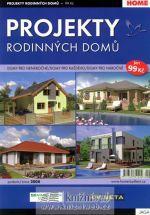 Projekty rodinných domů 2/2008 cena od 61 Kč