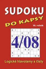 TELPRES Sudoku do kapsy 4/08 cena od 25 Kč