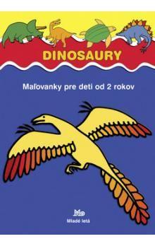 Jaroslaw Žukowski: Dinosaury - Maľovanky pre deti od 2 rokov cena od 32 Kč