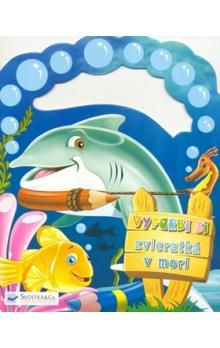 Svojtka Vyfarbi si zvieratká v mori cena od 39 Kč
