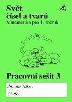Hošpesová Alena: Matematika pro 1. roč. ZŠ PS 3 Svět čísel a tvarů cena od 40 Kč